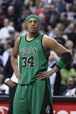 , American basketball player for the Boston Ce...