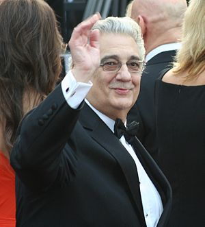 Placido Domingo at the 81st Academy Awards
