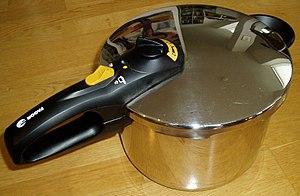 English: Pressure cooker