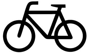 bicyclist (icon)