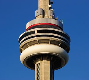 Toronto - ON - CN Tower Turmkorb2