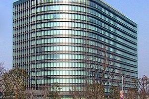 The new headquarters of the Toyota Motor Corpo...