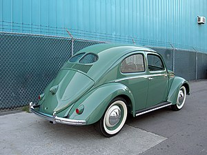 1949 Split window VW Beetle