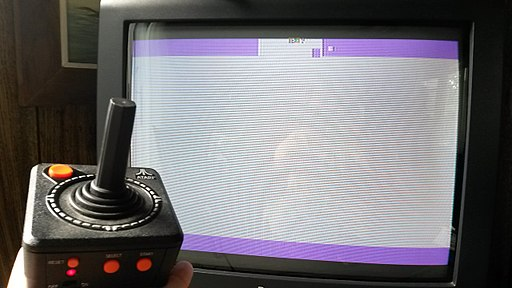 Atari Adventure Easter Egg on Atari (Jakks Pacific) Port