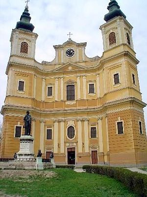 Oradea, Catholic Cathedral and Ladislaus I of ...