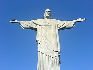 English: The famous monument Christ the Redeem...