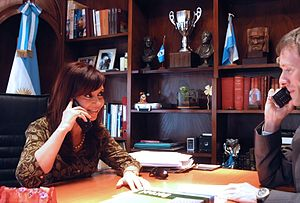 Dialogo Telefonico con Barack Obama