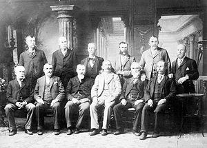 Lizzie Borden Trial Jury, 1893