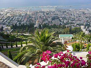Panorama haifa