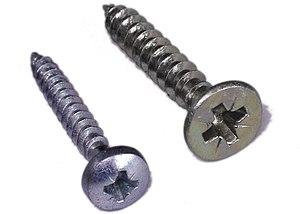 Pozidriv-head screw