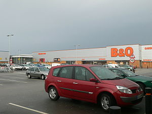 Queensferry Retail Park Small retail park just...