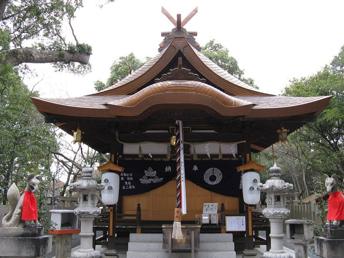 Shinodamori-kuzunoha-inari-jinja haiden