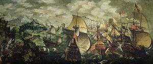 English: The Spanish Armada.