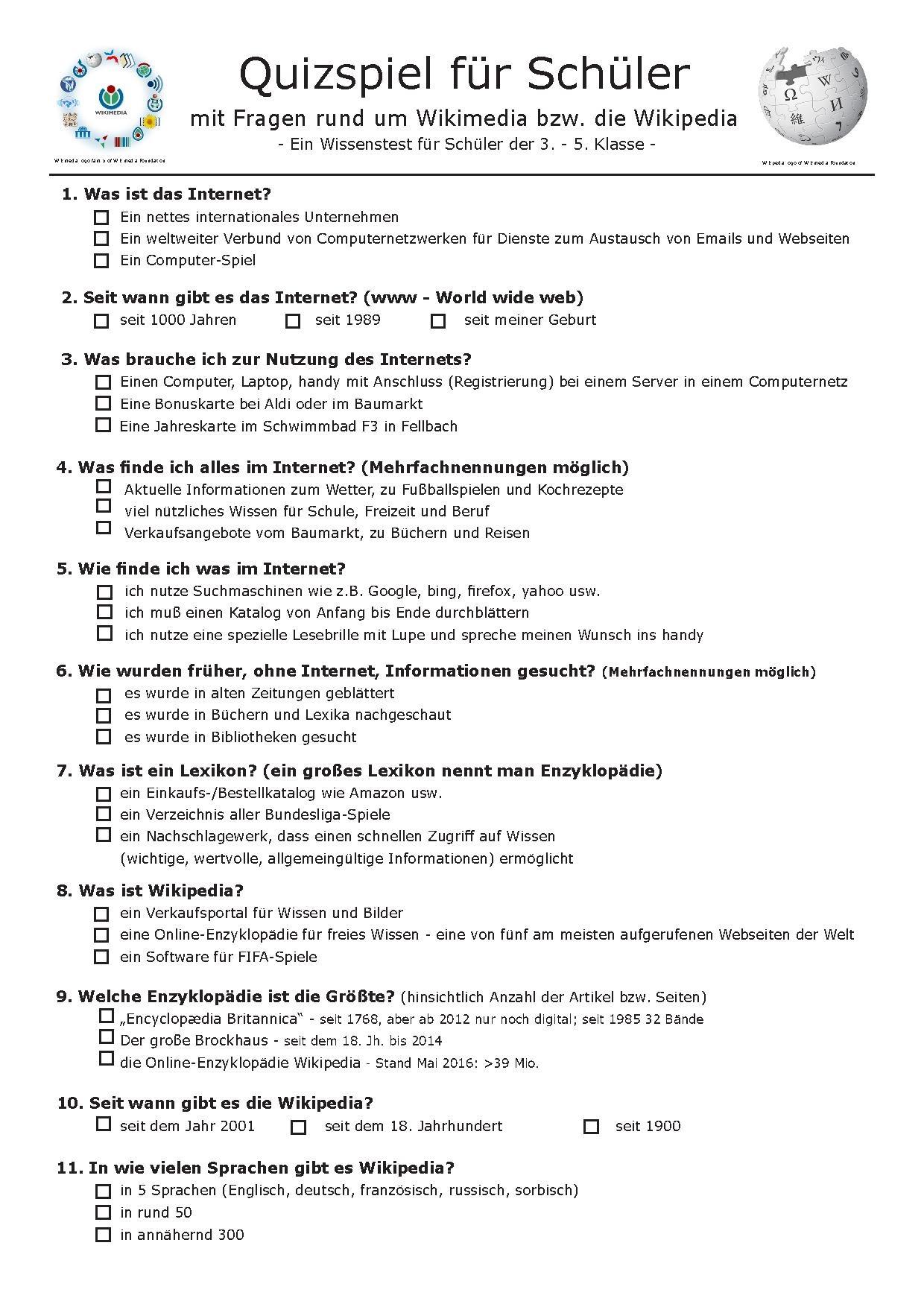 Datei Wikipedia Quiz Schuler Grundschule Wikipedia