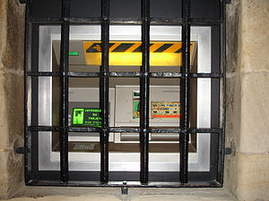 Very well protected ATM (but I think the bars ...
