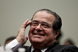 Supreme Court Associate Justice Antonin Scalia...