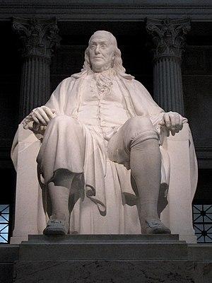 English: Benjamin Franklin National Memorial i...