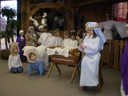 Children Christmas Nativity church Play