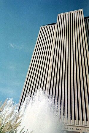 LDS Church Office Building, Salt Lake City, Utah.