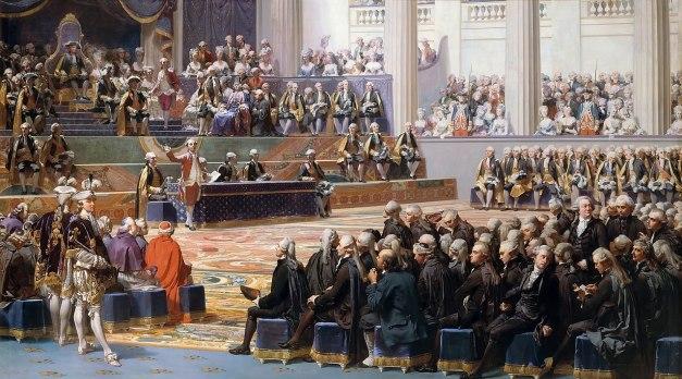 Auguste Couder: Versailles, 5 de maio de 1789, abertura dos Estados-gerais