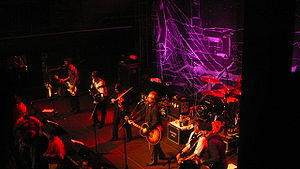 Flogging Molly performing live at Rams Head Li...