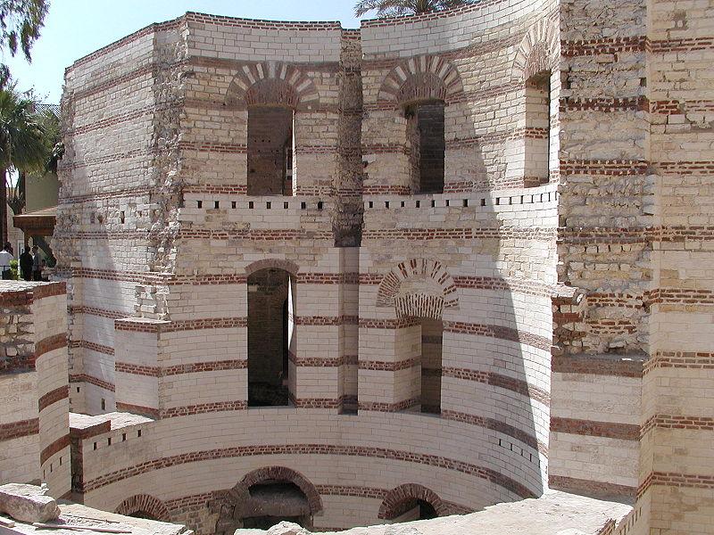 Tour de Babylone du quartier copte