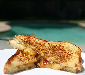 Grilled Cheese with hoisin