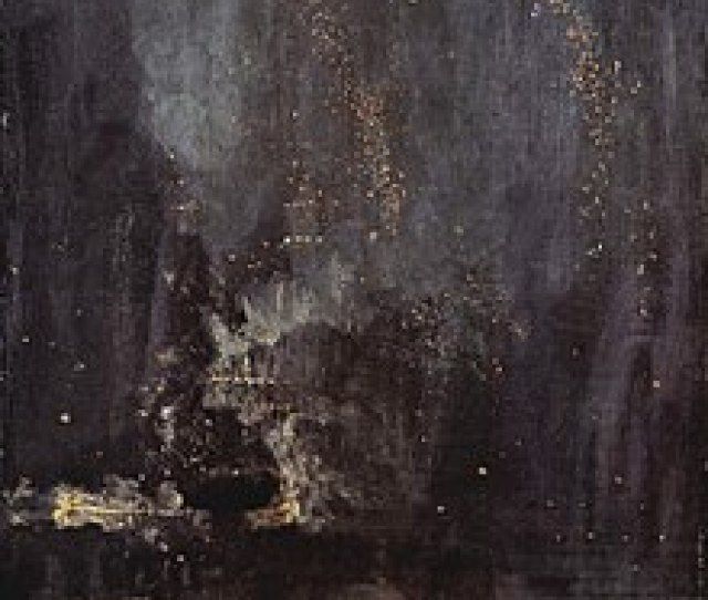James Mcneill Whistler Nocturne In Black And Gold The Falling Rocket  Detroit Institute Of Arts A Near Abstraction In  Whistler Sued The Art