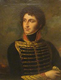 Portrait de Debelle par Pierre-Joseph Dedreux-Dorcy, 1837.Musée de l'Armée, Paris.