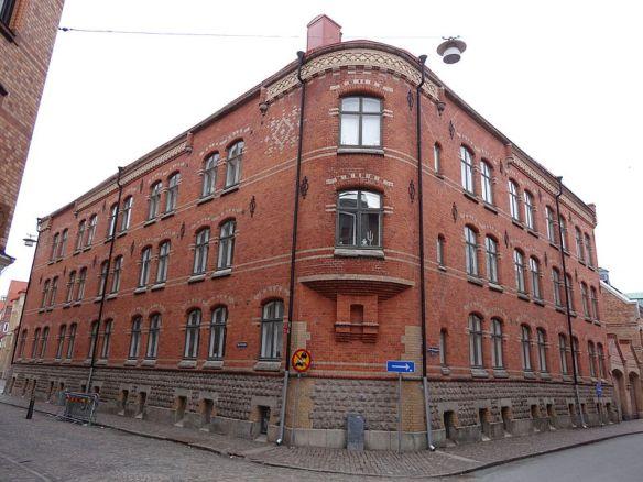 Dicksonska stiftelsens hus i kvarteret Majoren