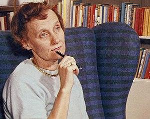 Svenska: Astrid Lindgren omkring 1960