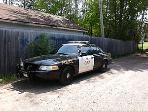 English: current Ontario Provincial Police cru...