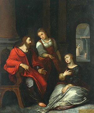 Christ in the House of Martha and Mary, c. 1597