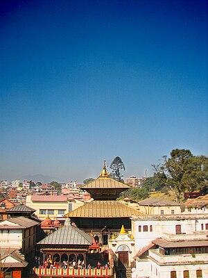 Pashupatinath Temple in Kathmandu, Nepal.