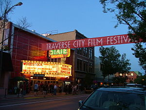 State Theater in Traverse City during Traverse...