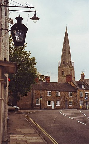 English: The High Street, Olney, Bucks (Milton...