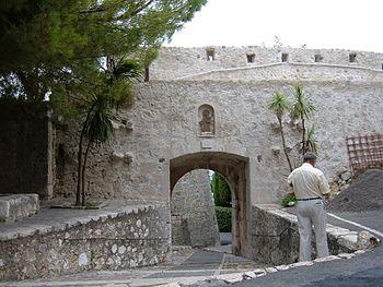 A section of the walls around Saint-Paul de Ve...