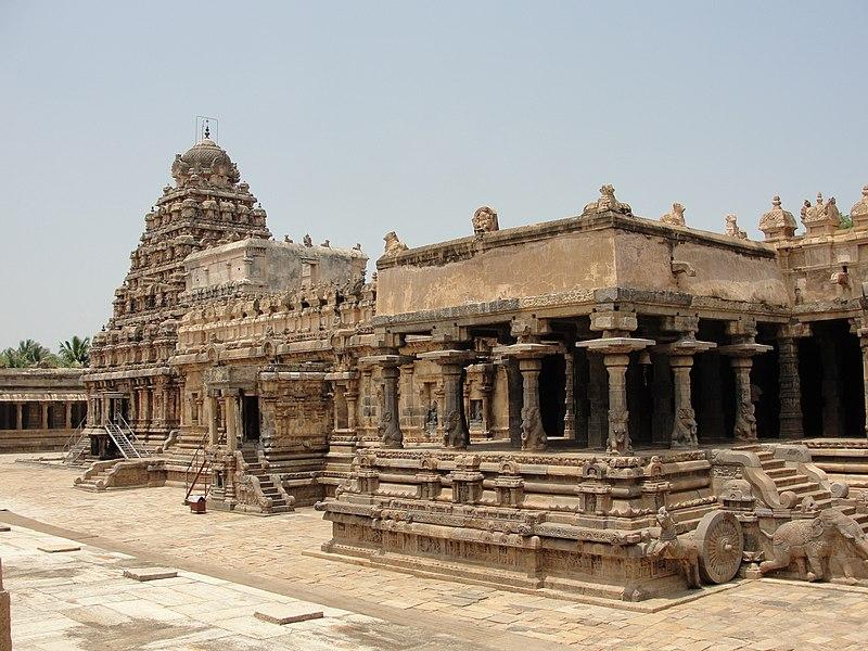 """File:""""A beautiful visual of Airavatesvara Temple"""".JPG"""