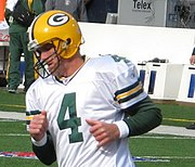 Brett Favre with the Packers in 2006.