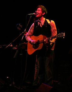English: Elvis Perkins performing live at Joe'...