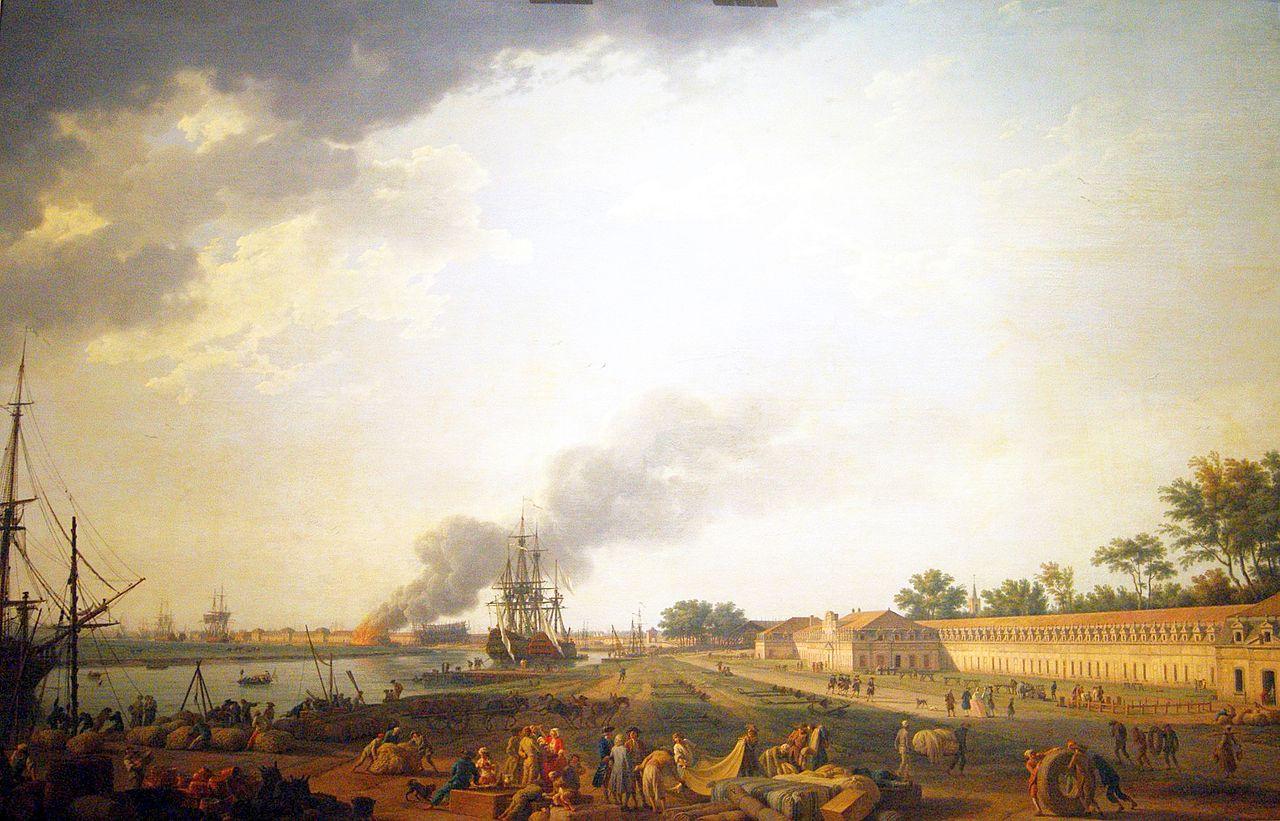 FileJoseph Vernet Vue Du Port De Rochefort Prise Du