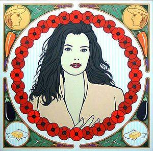 An artist's impression of Nigella Lawson by Pa...
