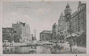 Schlossteich in Königsberg