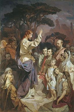 Sermon on the Mount by I.Makarov