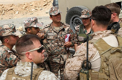 US Marines and Jordanian Armed Forces collaborate in Amman, Jordan