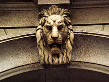 Decorative Lion Head Keystone-image courtesy Wikipedia