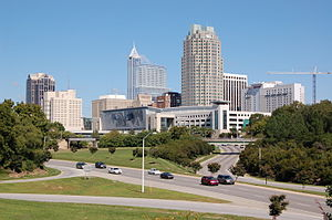 Downtown Raleigh, North Carolina as seen from ...