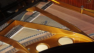 Inside of a Grand Piano