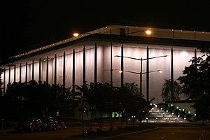 Kennedy Center at night