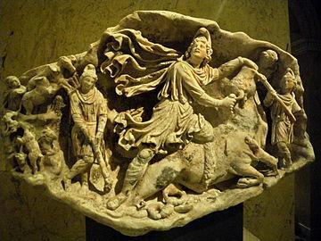 tauroctony in Kunsthistorisches Museum